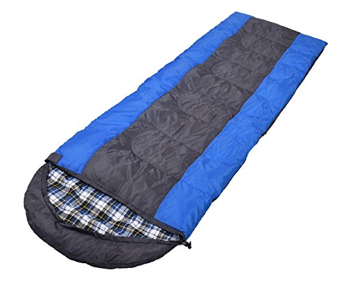Sac De Couchage Léger De Vacances De Xin.S Vacances Randonnée Camping Sac De Couchage Compact Ultra Léger. Peut être Utilisé Comme Couverture Ou Matelas,Blue-(190+30)*75cm