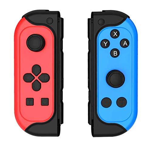 Switch Controller, Sinistra e Destra Sostituzione Switch Controller Bluetooth wireless Gamepad Joystick Joypad con giroscopio a 6 assi doppio Dual Motori Compatibile con Switch Lite