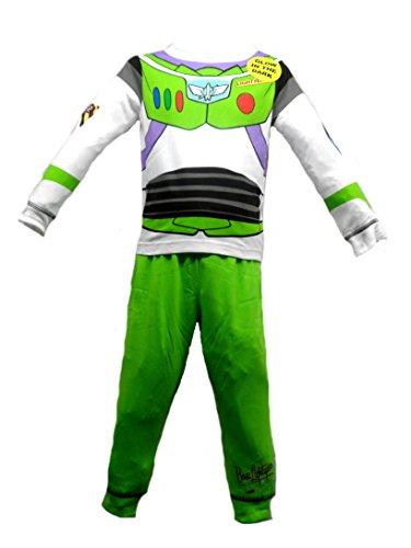 Pyjama-Set für Jungen und Kinder, Motiv Toy Story – Buzz Lightyear Woody – Alter 18-24 Monate, 3-4 Jahre, 4-5 Jahre, 5-6 Jahre (18-24 Monate, Buzz Lightyear)