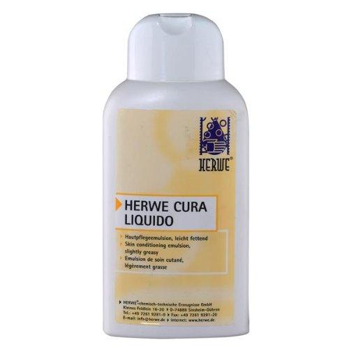 HERWE Cura Liquido Hautpflegelotion mit Bienenwachs 250 ml Flasche