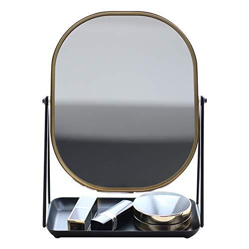 Jian E-& Miroir de Maquillage de Bureau de Miroir carré de Fil Nordique pour Envoyer des Cadeaux de Petite Amie