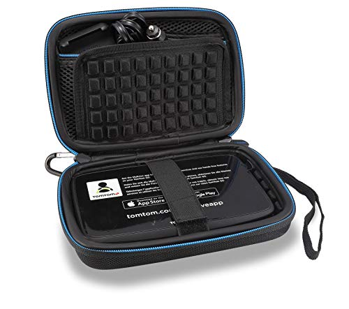 Supremery Tasche für Tomtom Pkw-Navi Navigationsgerät Hülle Hülle (Geeignet für 6,0 Zoll Gerät - Kompatibel mit:GO 610 620 6200, GO 60, GO 600/GO 6000/TRUCKER 6000)