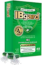 IBgard® for The Dietary Management of Irritable Bowel Syndrome (IBS) Symptoms Including, Abdominal Pain, Bloating, Diarrhea, Constipation†*, 48 Capsules