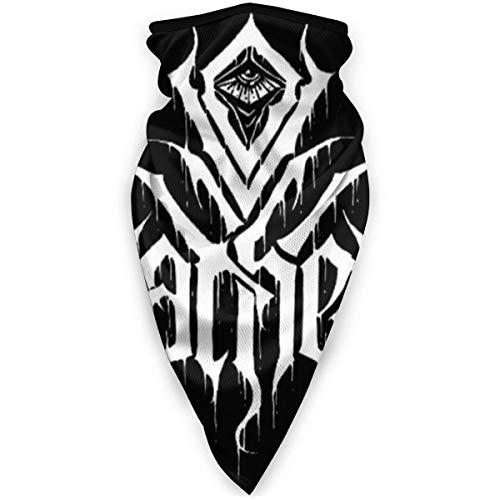 Ives Jean Pasamontañas 'in The Air Tonight' Death metal protector facial – polaina para el cuello, bufanda al aire libre, calentador de cuello, bandana pasamontañas