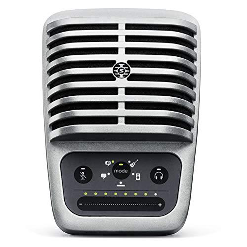 Shure MV51 Digital Large-Diaphragm Condenser Microphone + USB & Lightning Cable