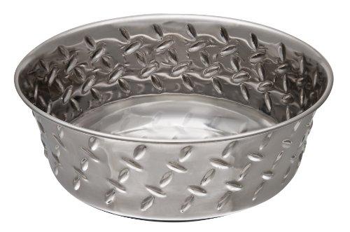 Loving Pets Diamond Plate Bol pour Chien 3,4 L