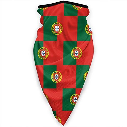 Mathillda Portugal vlag kunst patroon gezichtsmasker hals gamassen bandana sjaal bivakmuts multifunctionele hoofddeksel