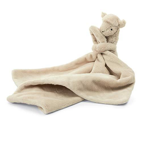 Jellycat Bashful Llama Soother Baby Stuffed Animal Security Blanket