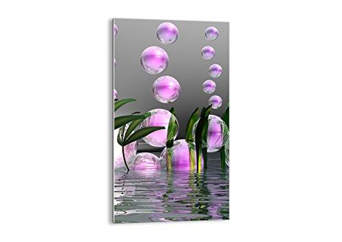Cuadro sobre vidrio - Impresiones sobre Vidrio - Computadora gráficos burbuja - 45x80cm - Decoracion de Pared - Impresión en Vidrio - Cuadro en vidrio - Cuadro de Cristal - GPA45x80-2329