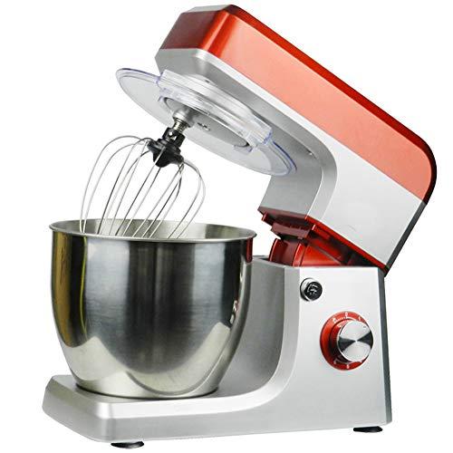 Food Processor Kneden Machine Mengen, 7 L Roestvrij Staal Mixing Bowl, 6 Speed Tilt-Head Food Mixer, Keuken Elektrische Mixer Met Deeghaak, Wire Whip & Beater 1200W