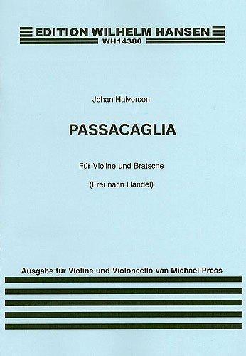 Passacaglia : für Violine und Viola : für Violine und Violoncello Partitur und Stimmen