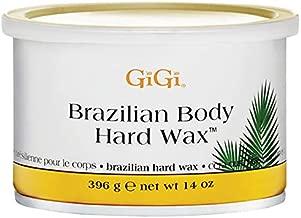 GiGi Brazilian Body Hard Wax for Sensitive Areas, 14 ounce