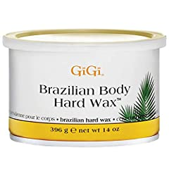 BE COMPLETELY FLAWLESS AND HAIR-FREE: Banish your stubborn bikini hair easily with GiGi Brazilian Body Hard Wax! A strip-free formula that effectively removes unwanted hair from your bikini area. Specially developed to remove even the most stubborn h...