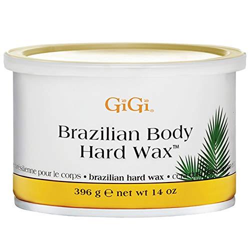 GiGi Brazilian Body Hard Wax A Non-Strip Formula for Sensitive and Delicate Areas 396g