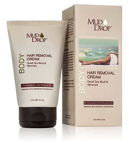 Be In Beauty Mud Drop Body Hair Removal Cream, 5.6 Ounce