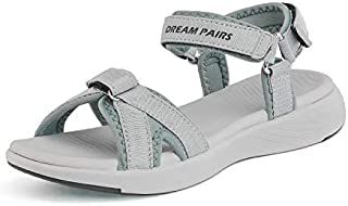 DREAM PAIRS Women's Sport Athletic Sandals Outdoor Hiking Sandals
