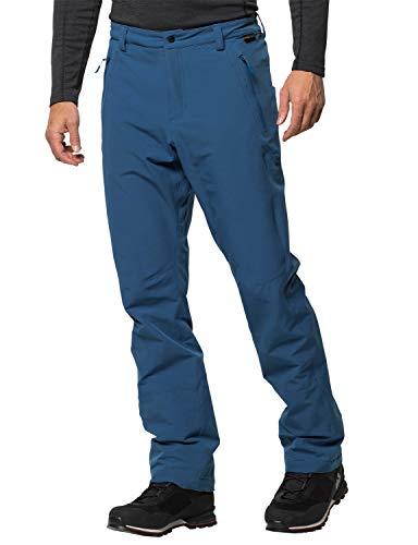 Jack Wolfskin Herren Activate Winter Pants Men Softshell-Hose, Indigo Blue, 26