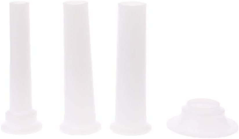 HOWWOH 3 Max 44% OFF Pieces Universal Sausage Stuffers Tube Many popular brands Stuffing Plastic
