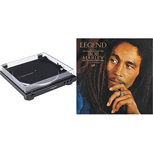 Audio-Technica LP60XBT Platine Vinyle sans Fil À ENTRAÎNEMENT par Courroie Automatique - Noir & Legend