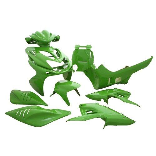 Nicht mehr lieferbar. Verkleidungskit STR8, komplett 11 Teile, Aerox/Nitro, kawa grün