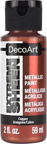 Deco Art Americana Extreme Glanz Jar der Farbe, Acryl, Kupfer, 3,5x 3,5x 10cm