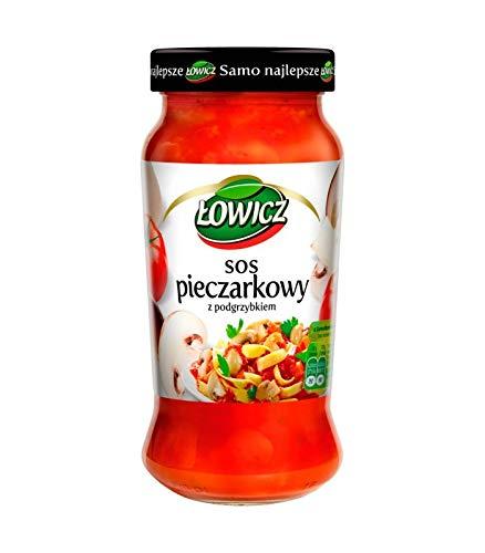 Pastasauce Lowicz Pilzsauce mit Steinpilz Nudelsauce 6er Pack (6x500g) Pilz-Sauce mit Steinpilz. Kein GVO. Keine Konservierungsstoffe.