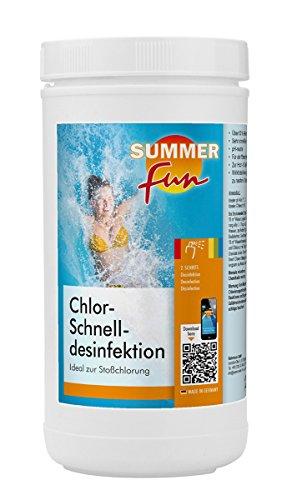 Summer Fun 502010755 Chlor - Schnelldesinfektion, 1.2 kg