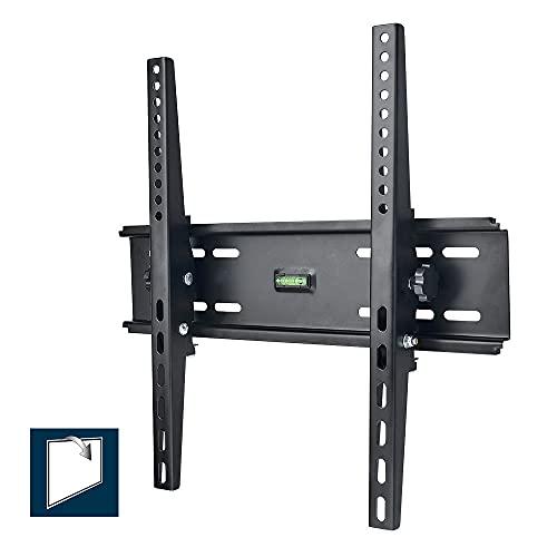E501353 - Soporte de TV Perlegear con Nivel - Soporte de TV en Pared Inclinable para Televisores de 22 a 55 Pulgadas con Carga de 40 kg, VESA máx. De 400 x 400 mm