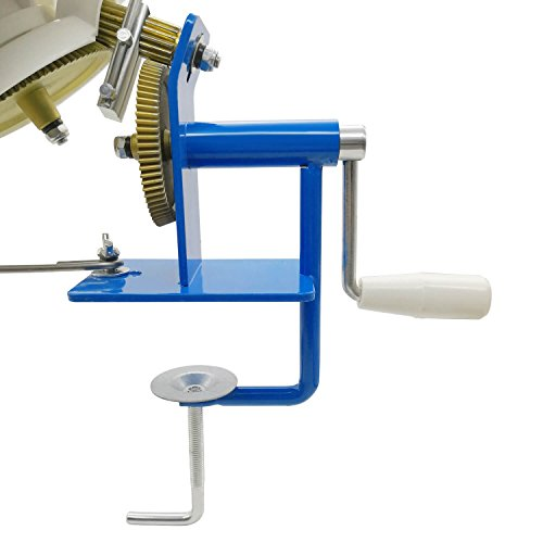 Large Yarn Ball Winder Capacity 10-Ounce, Metal Wool/Fiber/String Baller Table Clasp Hand Operated