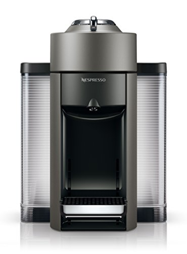Nespresso by De'Longhi Vertuo Evoluo Coffee and Espresso Machine by De'Longhi,...