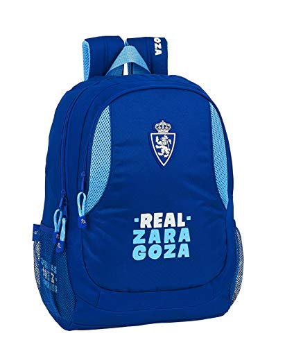 Safta Mochila Escolar de Real Zaragoza, 320x160x440mm, Multicolor