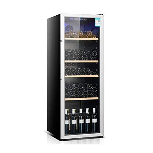 Grand réfrigérateur et boissons Cooler - 40dB, 310L (environ 80 Can), Réfrigérateur extérieur for patio, réfrigérateur for le bureau ou bar, avec porte en verre et lumière LED bleue 8bayfa
