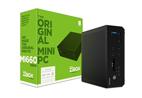 Zotac Zbox MI660 Barebone nano mini-PC (Intel Core i7-8550U quad-core, Intel UHD Graphics 620)
