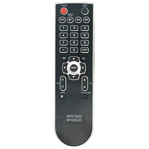 NKF New NF015UD Universal Remote for Emerson Sylvania TV LC320SS9 LC321SS9 LC320EM8A