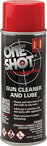 Hornady 99901 One Shot Gun Cleaner Aerosol Spray with DynaGlide Plus (10 fl oz Aerosol),Original Version