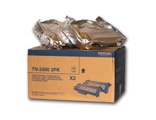 Brother TN3390 - 2er-Pack - Schwarz - Original - Tonerpatrone - für DCP 8250DN\; HL-6180DW, 6180DWT\; MFC 8950DW, 8950DWT