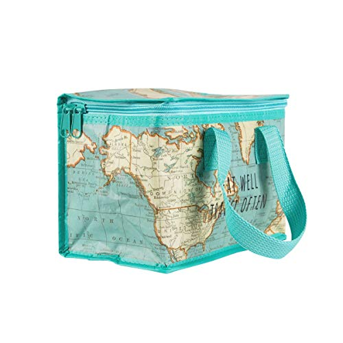 Sass & Belle Vintage Map Lunch Bag