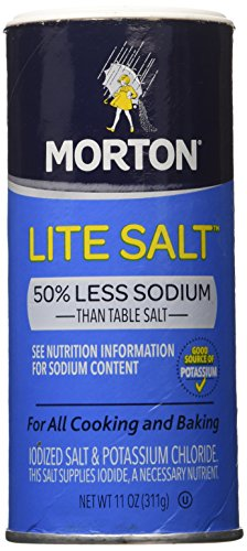 Mortons Salt Lite, 11 oz, 3-Pack