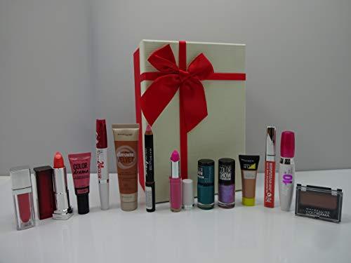 Valentinstags-Geschenkset für Damen, 8 Stück, luxuriöse Make-up-Geschenk-Box, verschiedene Marken ~ L'Oreal – Bourjois – Rimmel – City Colour – Miss Sporty – Astor – Mix Marken in Geschenk-Box