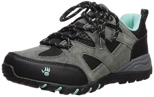 BEARPAW Women's Rhoda Hiking Boot, Charcoal, M080 M US