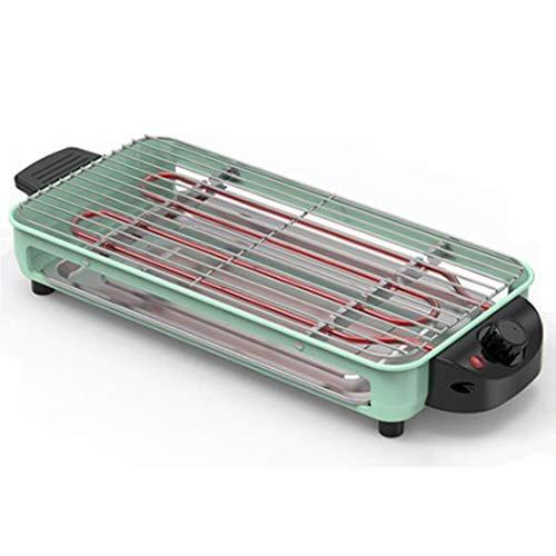 DPFXNN Griglia Elettrica Antiaderente Fornello per Barbecue, Piastra Grill, Utensili da Cucina, Cucina Domestica Piastra Elettrica Piastra in Ferro Spiedini per Barbecue