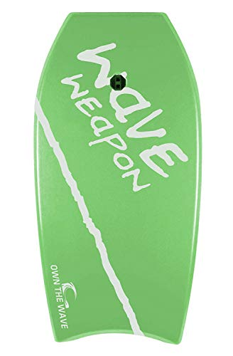 Own the Wave 37' Bodyboard (Light Green/White)
