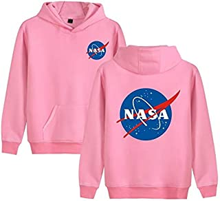 NASA Space Rocket Moon Space Astronaut Novelty Men Women Unisex Hooded Sweatshirt Hoodie CL09898