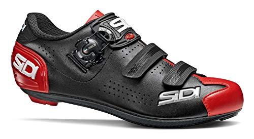 SIDI Zapatillas Alba 2 Scape Ciclismo Hombre Negro Rojo, 46