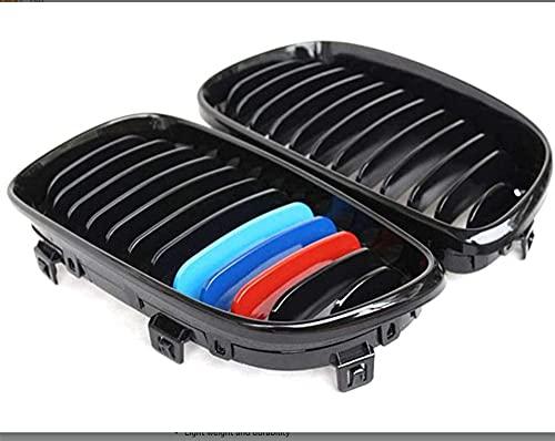 Front Sport Nierengitter Grill M Farbe Ersatzgrill schwarz glänzend für E81 E82 E87 E88 1er LCI 2007-2012