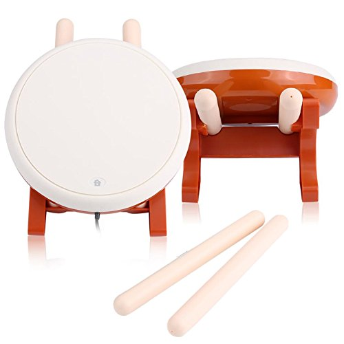 Liukouu Taiko No Tatsujin Master Drum Controller - Japanese Traditional Instrument Tiko Drum Master Gaming Accessories for Sony PS4