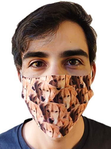 Calcetines Divertidos Personalizados y Cubre caras Con Cara Perros Gatos Hombre Mujer - Sube tu Foto Nosotros hacemos el trabajo! - Unisex - Nombres Regalo Original (CALCETINES + MASCARILLAS)