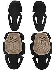 Airsoft Militar Pantalones de Caza Almohadillas Protectoras Almohadillas tácticas para Rodilla y Coderas G2 G3 G4 Pantalones Almohadillas Protectoras