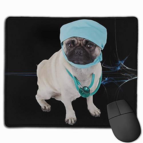 Vertrauen Sie mir, ich bin ein Dogtor Doctor Designed Rechteck Mauspad Überhand rutschfestes Gummi Langlebiger Computer Schreibtisch Schreibwaren Zubehör Mausmatte