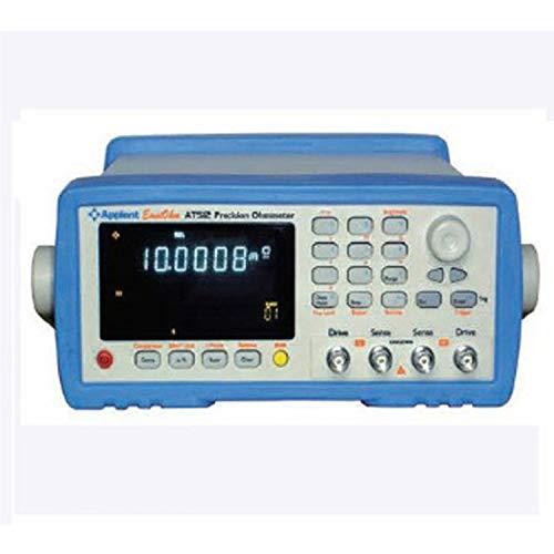Medidor de resistencia de CC de alta precisión AT512 Medidor de micro ohmios bajo Tester 0.1u-110M Ohm con comparador de controlador RS232